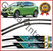 SEAT Leon 2012 2013 2014 2015 2016  Front Pair Flat Aero Wiper Blades x1
