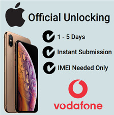 Fast Factory Unlocking Service For Apple iPhone 5 5C 5S on Vodafone UK