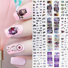 Water Decal Owl Dream Catcher Nail Art Transfer Stickers Tattoo Tips MT25-36
