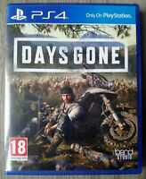Days Gone for Sony PlayStation 4 PS4 Mint Condition + FREE Fast Delivery