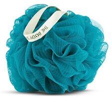 THE Body Shop Argan BLUE BAGNO DOCCIA GIGLIO Lucidatore Wash Scrunchie Puff spugna