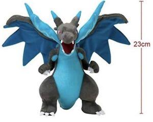 Mega Shiny Charizard X Y Plush Rizadon Dragon Stuffed Toy Cartoon Soft Doll