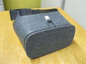 GOOGLE Daydream View VR Headset SLATE GREY Virtual Reality Goggles NO REMOTE!!