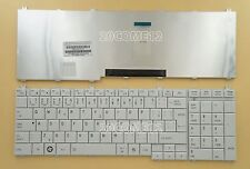 for Toshiba Satellite 660D L665D L750 L750D L755 Keyboard Czech čeština CZ White