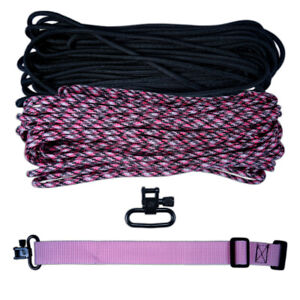Do It Yourself 60 Feet 550 Paracord Multi-Purpose Sling Kit
