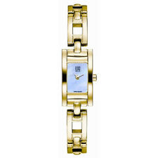 ESQ WOMEN'S WATCH FLAIR GOLD TONE MOTHER OF PEARL DIAL 07100873
