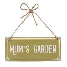 Mums Garden Hanging Wooden Sign Ideal Gift For Your Gardening Mum