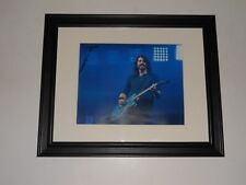 "Foo Fighters Dave Grohl on Stage 2015 Tour Framed Print 14""x17"" (Nirvana)"