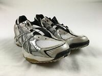 NEW Asics Volleycross 3 - White/Silver Running, Cross Training (Women's 10)