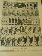 Jubilé de la reine Victoria Une procession populaire au moyen age print 1897