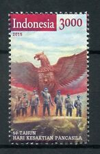 Indonesia 2015 MNH Sacred Pancasila Day 50th Anniv 1v Set Garuda Stamps