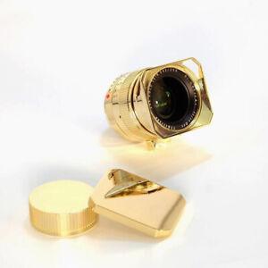 TTArtisans 35mm F1.4  24K GOLD SKIN Lens for Leica M M240 M5 M6 M9 Mount Camera