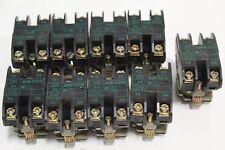 Set of (9) Schneider Square D Telemecanique XEN-C2151 VDE 0660-Teil2 NF C63-140