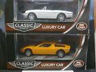 Funtastic Classic Range Diecast Luxury Cars 1/43 Twin Pack