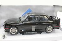 SOLIDO 421184380 BMW M3 E30 EVO Sport Evolution 1990 negro NUEVO 1:18 emb.orig