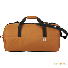 "New Carhartt Signature 28"" Duffel Travel Sports Gym Work Bag with Free Shipping"