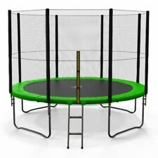 We R Sports Trampoline with Safety Net Enclosure Ladder Rain Cover 6 8 10 12 14 & 12-Feet