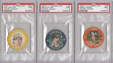 1984 7-11 Slurpee Coin Central Region Paul Molitor #XVIII PSA 9