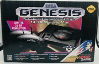 Sega Genesis Classic Mini Console [Retro System 40 Games 2 Controllers Japan ED