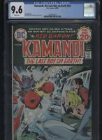 Kamandi, the Last Boy on Earth #22 CGC 9.6 - 1974 Jack Kirby