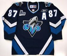SIDNEY CROSBY RIMOUSKI OCEANIC REEBOK JERSEY MEDIUM PENGUINS