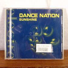 Dance Nation Sunshine CD Maxi Single 2001 Black Hole / Zomba OOP