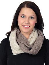 New Winter Warm Women Men Knit Infinity Shawl Circle Loop Scarf Scarves