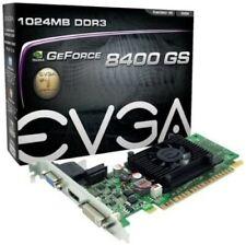 EVGA 1GB GF 8400 GS DX 10 64-Bit DDR3 PCI Express 2.0 x16 HDCP Video Card Model