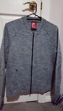 BNWT Men's Nike Tech Knit Jacket Sz Sml Carbon Heather/Black/Cool Grey/Black