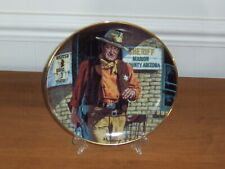 John Wayne American Legend Sheriff Limited Edition Porcelain Collector Plate