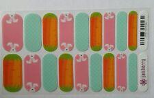 Jamberry -Get Hoppy- Easter Retired Rare Hard to Find- Full sheet