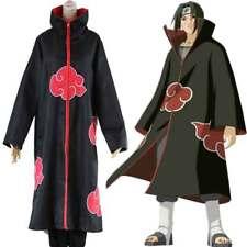 Naruto Cosplay CLOAK Red Cloud Robe Nagato Akatsuki Wardrobe Chin-High Collar