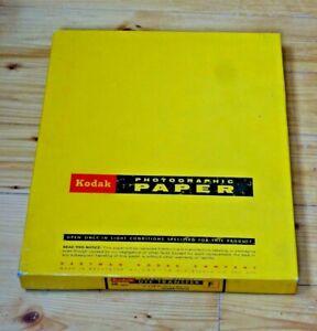 Kodak Dye transfer paper 11x14 inches double weight 50 sheets rare original