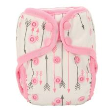 2018 NEWBORN Cloth Diaper Cover Baby Nappy Reusable Gussets 8-10lbs Arrow Girls