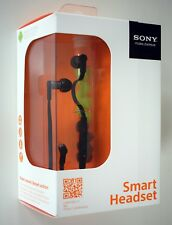 Sony Smart Auriculares MH-1C/MH1C Con Smartkey Control Para Sony XPERIA-Negro