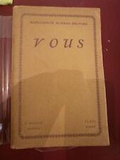 Marguerite Burnat-Provins Vous Avec envoi Edition originale 1/25 sur Japon