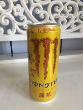 Monster Energy Drink Monster Dragon China leer Empty RAR Sammler