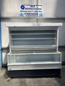 2m Costan Chiller Freezer Well Display Freezer Frozen Fridge Shop Commercial
