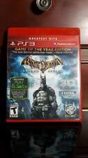 Batman: Arkham Asylum (Game of the Year Edition, Sony PlayStation 3, 2010)