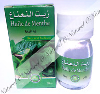 Huile de Menthe (Macérât) 100% Naturelle 30ml Mint Oil, Aceite de Menta