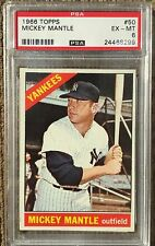 *WOW!* 1966 Topps MICKEY MANTLE #50 PSA 6 - EX-MINT GREAT INVESTMENT!