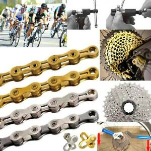 Bike Chain 6-8 9 10 11 Speed Road Bicycle Variable Speed Chain Full Semi-Hollow