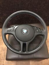 NEU! Lederlenkrad BMW E46 E39  Sport Lenkrad mit Blende Multifunk und Airbag (2)