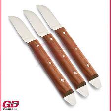 3er Set Alginat Wachs Messer Zahntechnik Zahn Labor Modellierinstrument Neu