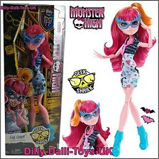 MONSTER HIGH Doll GIGI GRANT From GEEK SHRIEK Series Chic SUPER RARE RETIRED New