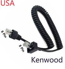 Replacement Mic Cable 8pin for Kenwood TK-863G TK-868 TK-868G TK-880 TK-880G USA
