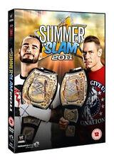 Official WWE Summerslam 2011 DVD