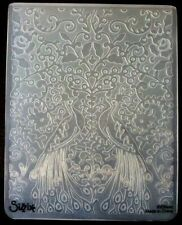 Sizzix Large Embossing Folder PEACOCKS PEACOCK FLOWERS 4.5x5.75in