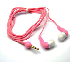 in Ear Stereo Pink headphone for new sony experia go/sony experia p/tipo/micro
