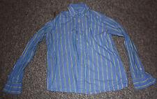 Women's American Eagle Button Down Long Sleeve Shirt XS/TP Blue/Green